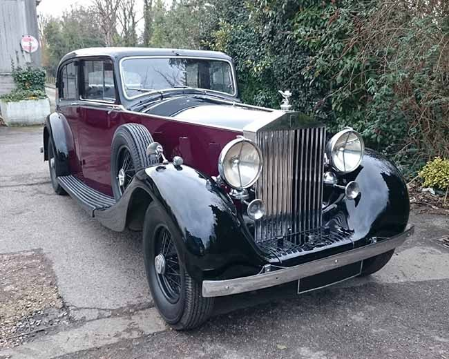 1937 Rolls Royce Phantom | Classic Rolls Royce Car Hire ...